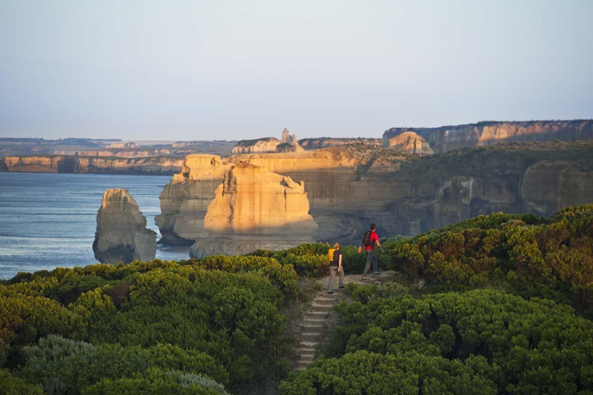 Walk to the Twelve Apostles on the Twelve Apostles Lodge Walk with Great Walks of Australia.