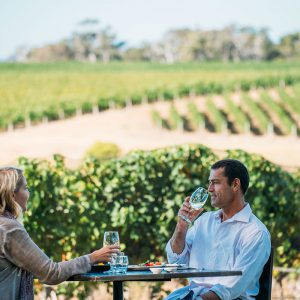 Enjoy world-class food and wine at award-winning winery Will's Domain, on the Margaret River Cape to Cape Walk.