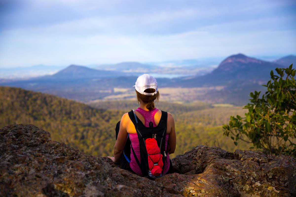 Take in incredible views of the Scenic Rim in Queensland on this Great Walk of Australia.
