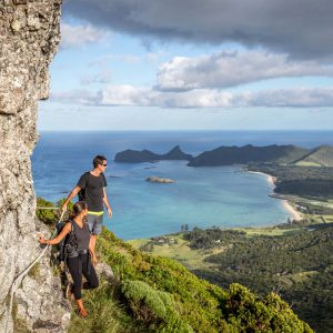 The Seven Peaks Walk offers incredible mountain views on Lord Howe Island in New South Wales.