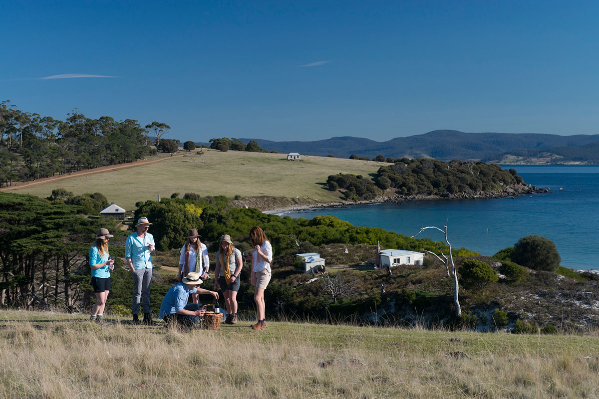 Join other walkers with Great Walks of Australia for the Maria Island Walk in Tasmania.