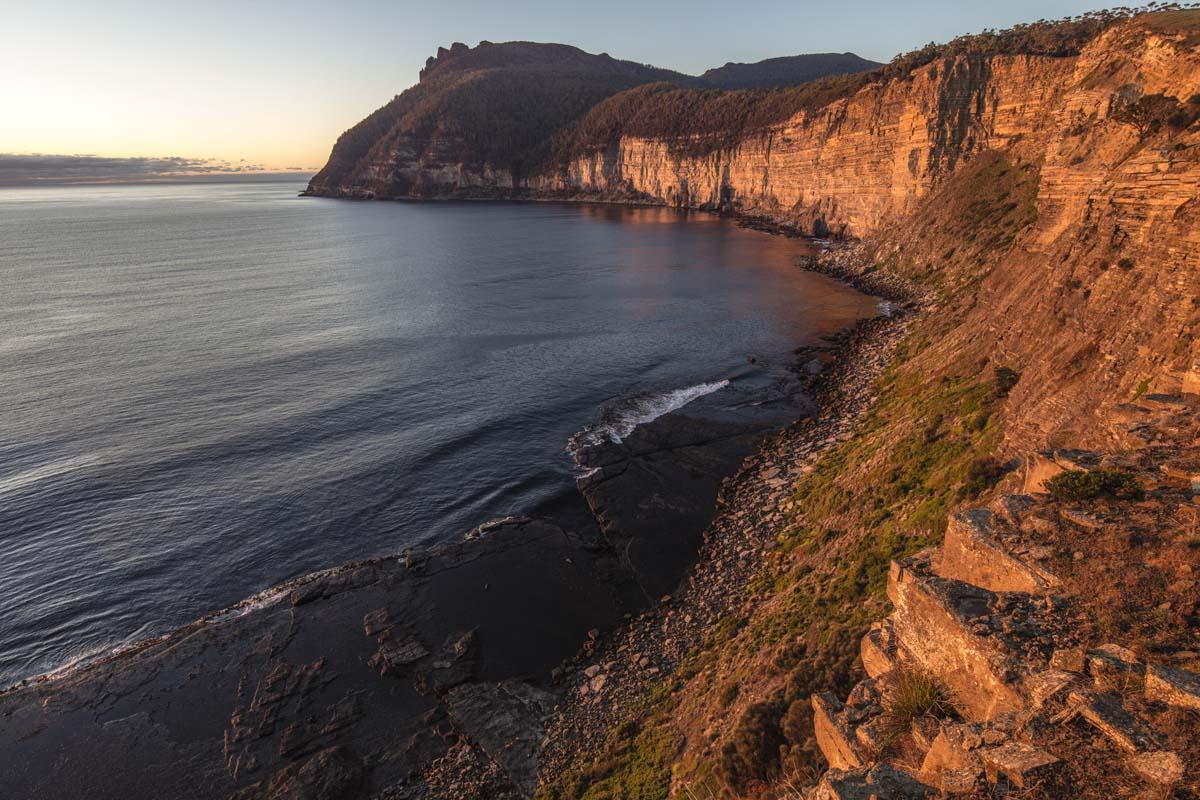 Australian coastline on the Maria Island Walk