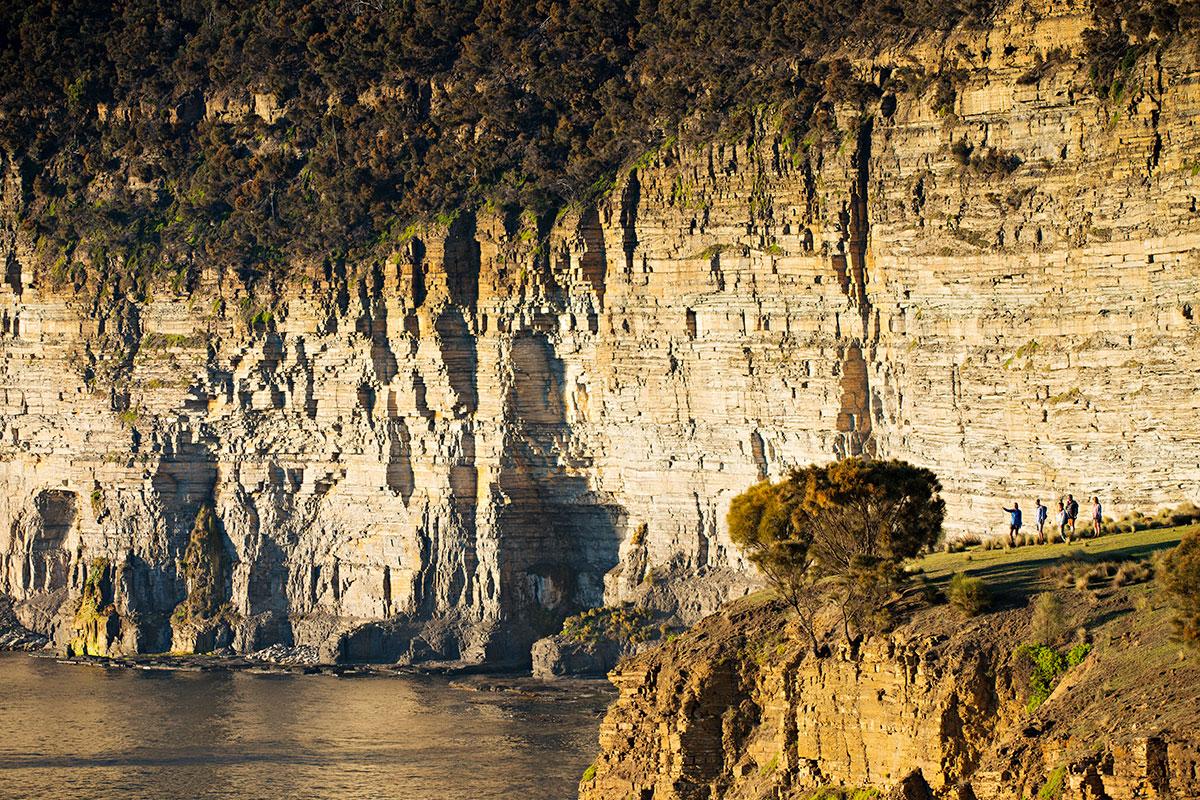 Walk to the beautiful Skipping Ridge on your guided Great Walk of Australia, on Maria Island in Tasmania.