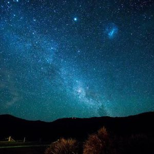 Views on the night walk during the Spicers Scenic Rim Walk